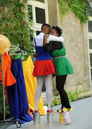 Mamela Nyamza and Faniswa Yisa